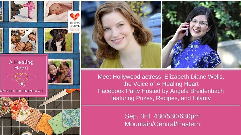Facebook Party for A Healing Heart Audible Book!