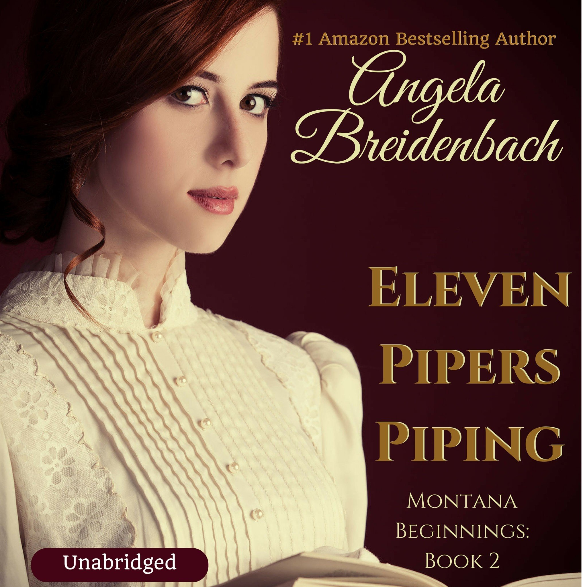 """Proof reading"" Eleven Pipers Piping by listening to the audio files before uploading to Audible :)"