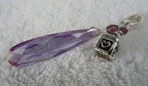Light purple alexandrite