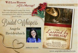 Bridal Whispers novella included in the Lassoed by Marriage Romance Collection meets the romantic tension standards for Barbour Books.