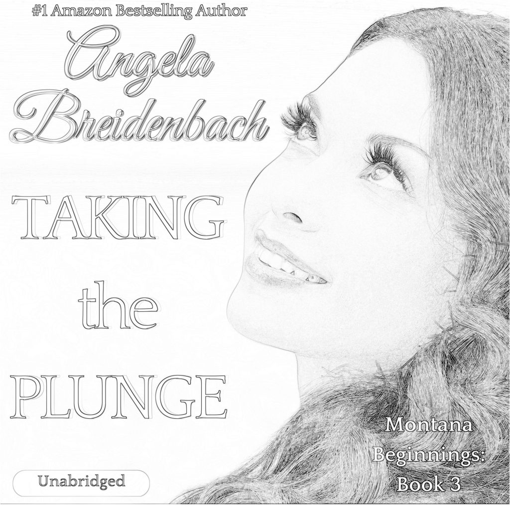 Taking The Plunge AudioBook Cover and Coloring Page. Jot your review and share it on social media. Be sure to tag me!