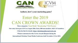 CAN Crown Awards Celebrate Author Marketing