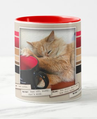 Paws Off An A-Muse-ing Coffee Mug