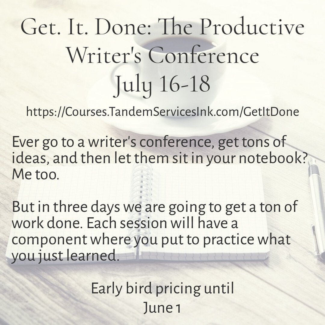 Get It Done Writers Conference