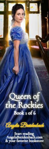 Queen of the Rockies Collector's Bookmark 1